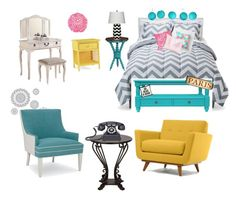 """""""Untitled #3"""" by geekyprincess on Polyvore featuring interior, interiors, interior design, home, home decor, interior decorating, Room Essentials, H&M, Poundex and Serena & Lily"""