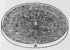 Hypnerotomachia Poliphili - Pagina 2, Labirinto d'acqua - dall'edizione francese del 1546