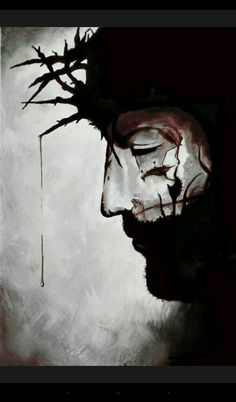 watercolor of jesus christ with crown of thorns - Bing images Croix Christ, Jesus Crown, Jesus Drawings, Jesus Painting, Jesus Christus, Jesus Art, Prophetic Art, Biblical Art, Crown Of Thorns