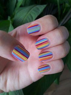 Coloured Stripes