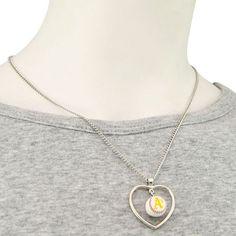 Oakland Athletics 3D Baseball Heart Pendant Necklace, $13.99 https://www.facebook.com/permalink.php?story_fbid=1561867847463707&id=1560726764244482