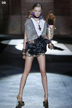 DSQUARED2 SPRING SUMMER 2017 WOMEN'S SHOW COLLECTION