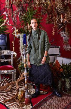 Gods Of Materialism #needles #nepenthes #nepenthesjp #engineered garments #womenswear #fashion