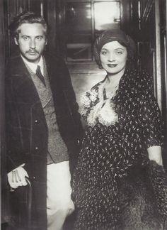 Josef von Sternberg & Marlene Dietrich in Berlin, 1930