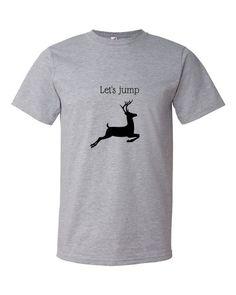 Let's jump-Short sleeve t-shirt