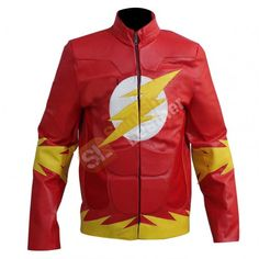 Flash Movie Red Leather Jacket | Get affordable $125   FlashLeatherJacket  RedLeatherJacket