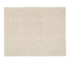Chunky Wool  Natural Jute Rug- Pottery Barn- Not sure if this is the right color, but I like the texture.