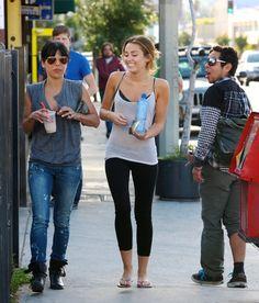 Miley... miley cyrus, leg, fit, 2012, summer