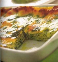 Lasagne al pesto... (Liguria)... :)