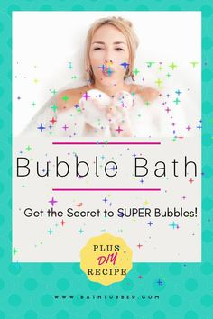 Get the secret for making your bubble bath more bubbly than ever. This works for store-bought and homemade bubble baths. Plus get the recipe for the super bubbly—and super easy!—DIY Rosy Bubbles Bubble Bath. How to make a bubble bath. How to make a DIY bubble bath. How to make your bath bubbly. How to make a really bubbly bath. #Howtomakeabubblebath#Howtomakediybubble bath#Howtomakeyourbathbubbly#Howtomakeareallybubblybath Bath Gift Basket, Gift Baskets, Relaxing Bath Recipes, Bubble Bath Homemade, Super Bubbles, Bath Benefits, Muscle Pain Relief, Bubble Baths, Spa Like Bathroom
