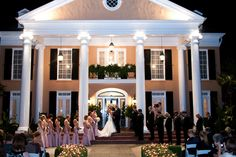 Plantation Wedding  Southern Weddings Magazine