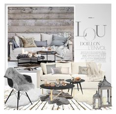 """""""winter home"""" by soyance ❤ liked on Polyvore featuring interior, interiors, interior design, home, home decor, interior decorating, Eichholtz, UGG Australia, Natures Collection and Best Home Fashion"""