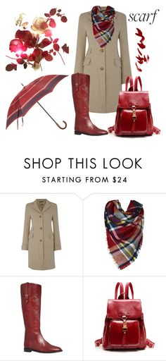 """""""Fall Scarf"""" by najoli ❤ liked on Polyvore featuring Lauren Ralph Lauren, Burberry, Barneys New York and scarf"""