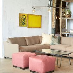 gunner leather sectional - Google Search
