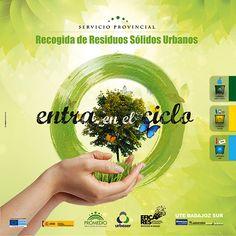 """Campaña """"Entra en el ciclo de los residuos"""" Signum Comunicación www.signumcomunicacion.com #carteleria #poster #ilustracion #illustrator #illustration #graphicdesing"""