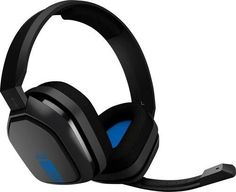 Astro - A10 Wired Stereo Gaming Headset for PlayStation®4 - Blue/Black