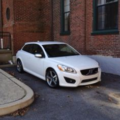 2011Volvo C30 T5 in Ice White