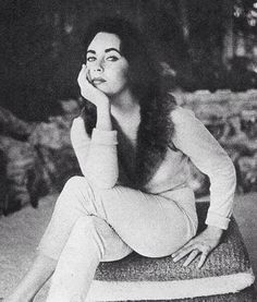 The forever Beautiful  and most intriguing Elizabeth Taylor..The Queen