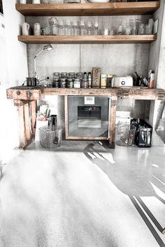 Küchenboden küchenboden designboden sichtestrich beton küchen
