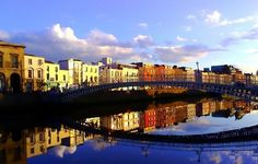 My first visit to Europe and this is where it was......  Dublin, Ireland