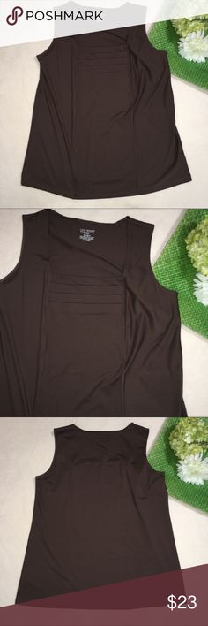 """LANE BRYANT   stretchy layering tank Length: 27""""   Armpit to armpit: 20"""". All offers considered. :) Lane Bryant Tops Tank Tops"""