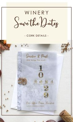 A romantic fall winery save the date inspired by rows of vines, the sprawling scenery, and the fall colors on the vine leaves after the wine harvest..The wax seal detail with tiny pieces of pure cork add the perfect amount of rustic chic style to your winery wedding. Visit us to know more. #corksavethedates #wineryweddingsavethedates Rustic Wedding Stationery, Laser Cut Wedding Invitations, Destination Wedding Invitations, Laser Cut Save The Dates, Rustic Wedding Save The Dates, Laser Cut Invitation, Vine Leaves, Cream Wedding, Rustic Chic