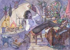 Studio Ghibli Art, Studio Ghibli Movies, Hayao Miyazaki, Castle Movie, Howl Pendragon, Howl And Sophie, Howls Moving Castle, Totoro, Fanart