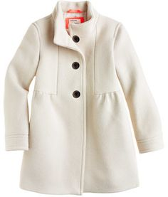 J.Crew Girls' stadium-cloth marquee coat on shopstyle.com