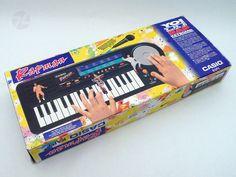 CASIO RAP-1 RAPMAN Keyboard OVP Netzteil - cyan74.com vintage and pop culture online shop Switzerland Schweiz Swiss Suisse