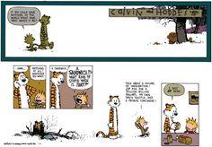 Calvin and Hobbes Comic Strip, November 03, 2013 on GoComics.com