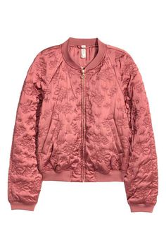 Bomber con motivi quilted   H&M