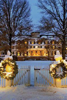 Christmas in Vermont - Wassailing Weekend in Woodstock, Vermont