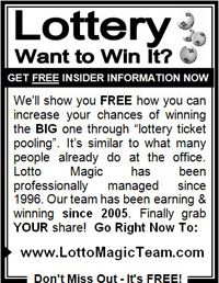 Team's Lotto Magic 3 inch offline ad, one of my favorites