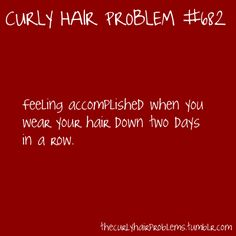 The Curly Hair Problems