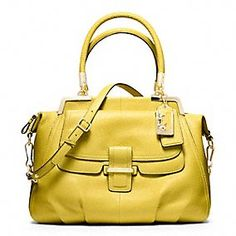 MADISON PINNACLE PEBBLED LEATHER LILLY IN KIWI = MY NEXT BAG!!!