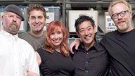 MYTHBUSTERS.  Hosted by Jamie Hyneman and Adam Savage -- and co-hosted by Tory Belleci, Kari Byron and Grant Imahara -- the MYTHBUSTERS mix scientific method with gleeful curiosity and plain old-fashioned ingenuity to create their own signature style of explosive experimentation.