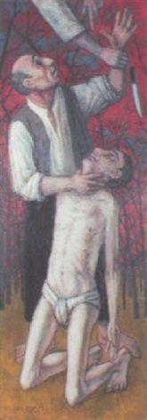 Le Sacrifice d'Abraham by Michel Ciry