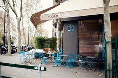 Kooka Boora Café Shop // paris Coffee In Paris, Real Coffee, Paris Map, Cafe Shop, France, Beach Club, Places Ive Been, The Good Place, Madrid