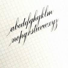 Resultado de imagem para copperplate calligraphy tutorial