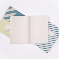 Pretty A5 notebooks.