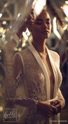 Elihav Sasson Wedding Dresses 2019 - Belle The Magazine - Wedding Outfit Country Wedding Dresses, Princess Wedding Dresses, Modest Wedding Dresses, Wedding Dress Styles, Boho Wedding Dress, Bridal Dresses, Wedding Gowns, Bling Wedding, Wedding Ceremony