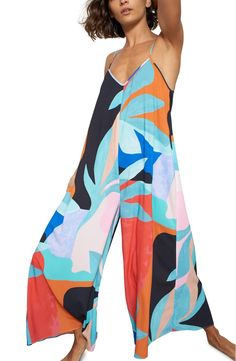 Mara Hoffman Carly Cover-Up Jumpsuit Fashion Room, Boho Fashion, Womens Fashion, Summer Outfits, Cute Outfits, Surfer Girl Style, Tie Dye, Boutique, Summer Looks