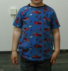 Shirtje met raglanmouw