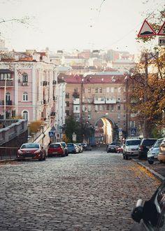 Downtown Kyiv (Kiev), Ukraine