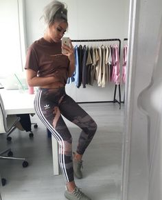 Sporty Outfits – Beauty Products/Ideas You May Like Legging Outfits, Adidas Leggings Outfit, Nike Outfits, Sport Outfits, Winter Outfits, Casual Outfits, Fashion Outfits, Fresh Outfits, Gym Leggings