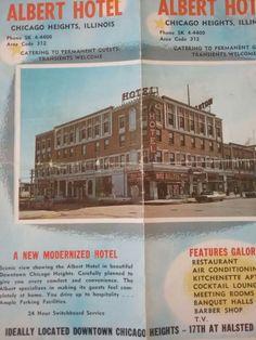 Albert Hotel Chicago Heights Illinois