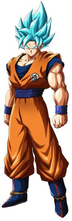 SSB Goku Dragon Ball Fighterz by Skapnslap.deviantart.com on @DeviantArt