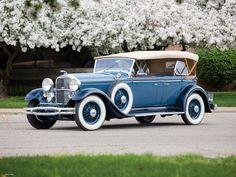 1931 Lincoln Model K Dual Cowl Sport Phaeton (202-A)