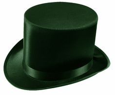 Lincoln Satin Black Mens Costume Top Hat for sale online Top Hat Costume, Black Hat Seo, Black Satin, Black And White, Celtic Circle, Unique Costumes, G Man, Venetian Masks, Hats For Sale