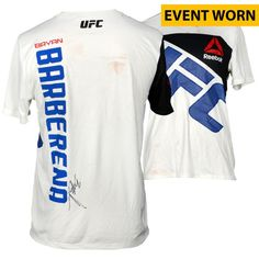 Bryan Barberena Ultimate Fighting Championship Fanatics Authentic Autographed UFC Fight Night: Johnson vs. Bader Event-Worn Walkout Jersey - Defeated Sage Northcutt via Second Round Submission